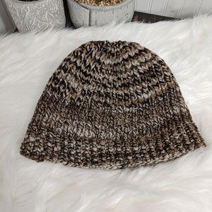 Oversized Reversible Men's Knitted Beenie Hat